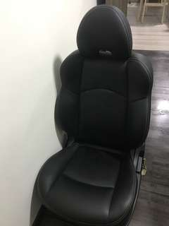 Colt version R - leather car seat x2