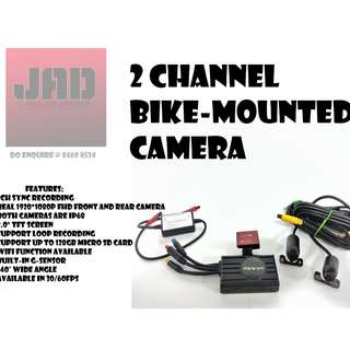 Full HD WiFi Enabled Bike Mounted Camera