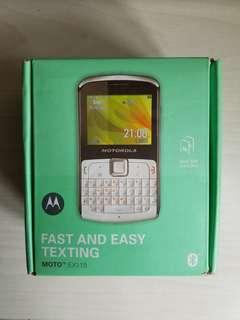 Motorola EX115 Dual Sim Card