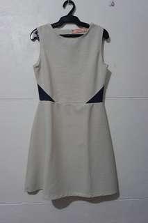 GTWfab Stripes sleeveless dress