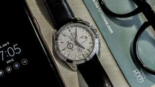 Jam Tangan Tissot PRC 100 clone. Quartz movement