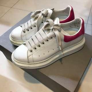 Mcq 桃紅鞋37