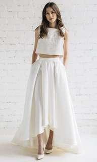 Jurgita Bridal two piece wedding dress 兩件頭婚紗