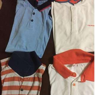 Bundle polo shirt all size S P250 for all