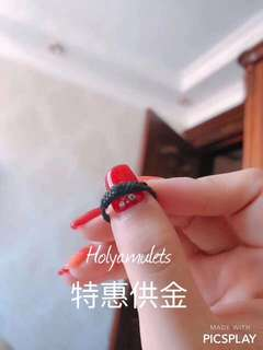 泰國佛牌佛像【特惠供金】 🎊🎊🎊靈性十足哦!🎊🎊爆品 阿贊蒲拿空 靈性鎖心招財戒指💍 佛牌🙏