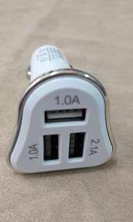 USB充電 气車點煙器