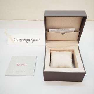 Bonia Box Watch jam tangan authentic original