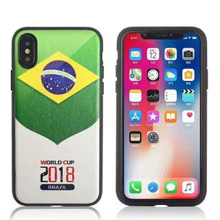 Brazil Football Case iPhone 7/8/X