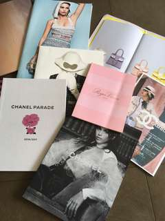 Chanel, Delvaux, Roger Vivier 季度catalogue
