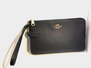 Large Double zip wristlet