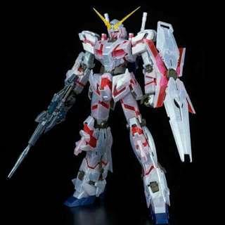 MG RX-0 Unicorn Gundam (Metallic Gloss Injection)
