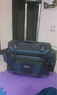 Hawk Trolley Bag with lunch bag and bag cover