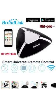 2018 Broadlink RM Pro+ (RF + Infrared) Smart Home Remote Hub Controller