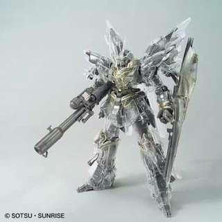 MG 1/100 MSN-06S Sinanju [Mechanical Clear] Gundam Base Tokyo Limited
