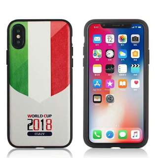 Italy World Cup Football Case iPhone 7/8/X