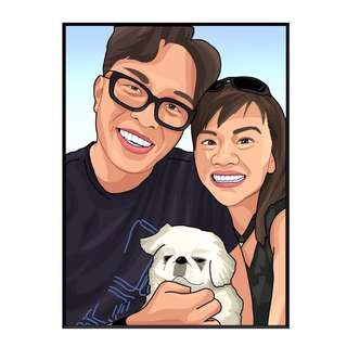 Customized Art For couple