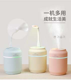 [FREE Shipping] USB 3in1 humidifier LED