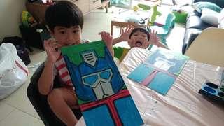 Art for Kids (2.5YO TO 12YO ONLY)