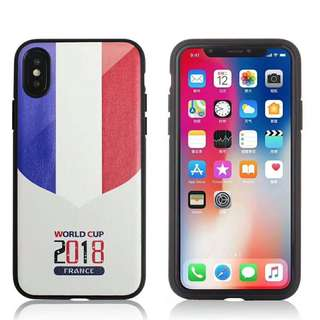 France World Cup Football Case iPhone 7/8/X