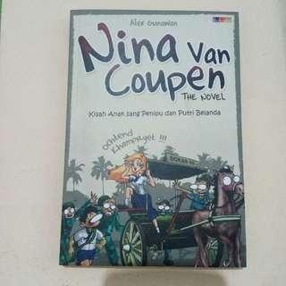 Buku Novel Komedi Nina Van Coupen