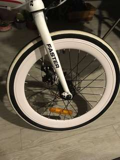 Almost new Foldable bicycle-GTR