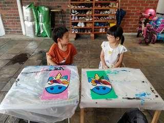 ART FOR KIDS (2.5 - 12 YO ONLY)