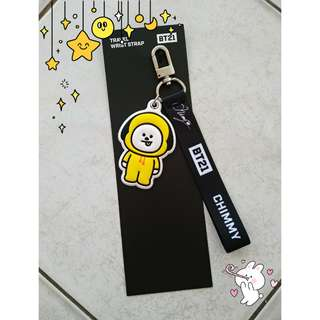 BTS MONOPOLY CHIMMY TRAVEL WRIST STRAP