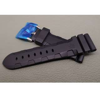26mm錶帶 膠帶 (OAD防粘毛) 代用品 PANERAI (ref:2622PAN膠帶黑)