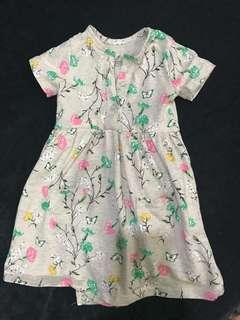 Baby Girl Dress romper (6months)