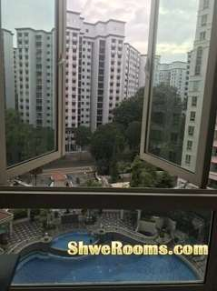 One condo common room for rent !!