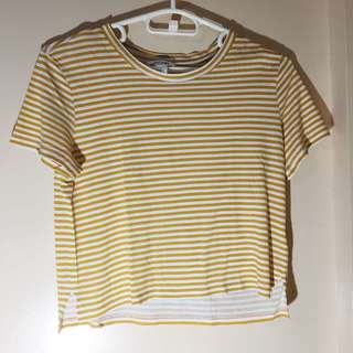 MONKI striped shirt