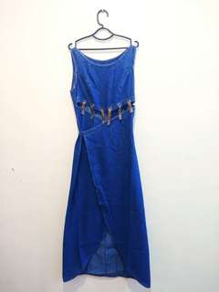 Denim Long Dress