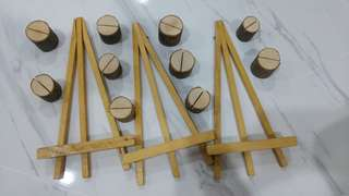 (Brand New) Wooden Holders 10s