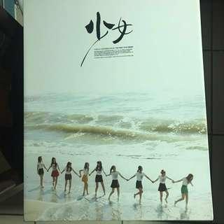 少女時代寫真書Jessica 太妍 允兒第一本寫真書