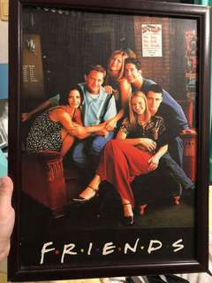Friends poster decor/frame
