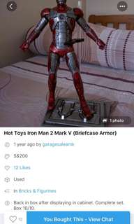 :HOT TOYS:   BEWARE OF THIS SELLER!!