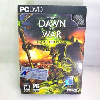 PCDVD Game WARHAMMER 40,000 Dawn Of War DARK CRUSADE
