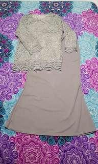 Lace Baju Kurung Set