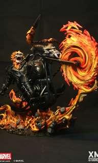 XM studios ghost rider statue 1/4