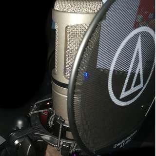 AT2020 USB Condenser Microphone Bundle