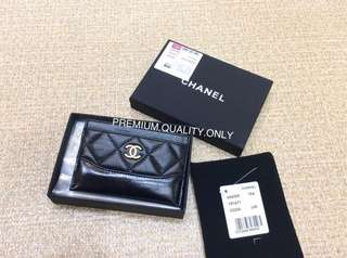 Chanel Gabrielle Card Holder- black