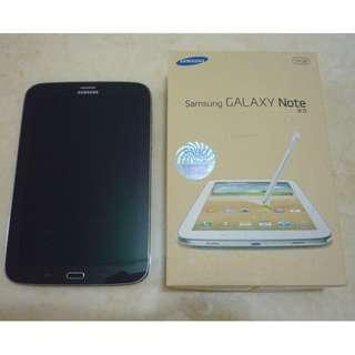 三星 Samsung GALAXY Note 8 LTE N5120 原裝盒 Synergy 原裝行貨 啡色 100% work 95%新