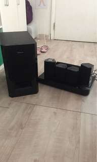 Samsung 5.1 3D blue ray stereo