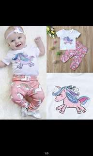 Baby Set unicorn (new)