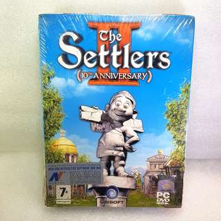 PC DVD GAME The Settlers ll ( 10th ANNIVERSARY )