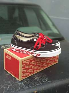 Vans Authentic ( Sketch Sidewall ) Black / R