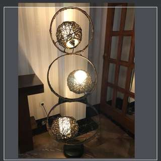 Standing lamp From ratan