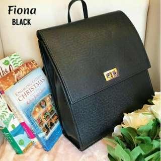 Black prestige backpack