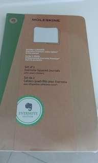 Moleskine Evernote Squared Journals