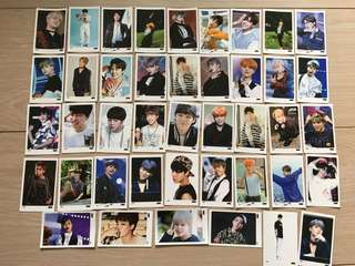 BTS 防彈少年團 Park Jimin Unofficial Photocards 韓國購買